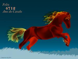 2014 ano do cavalo de madeira